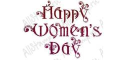 Штамп «Happy Women's Day 9»